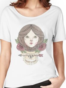 Arrows and Roses Women's Relaxed Fit T-Shirt