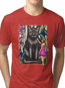Misty and the Fairy Tri-blend T-Shirt