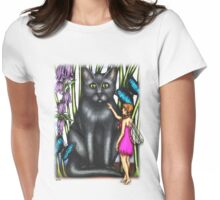 Misty and the Fairy Womens Fitted T-Shirt