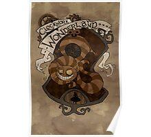Clockwork Wonderland - Cheshire Cat Poster