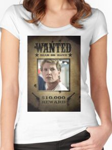 Buffy Maggie Walsh Wanted 2 Women's Fitted Scoop T-Shirt