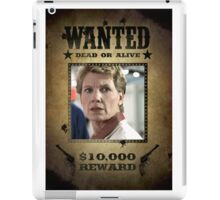 Buffy Maggie Walsh Wanted 2 iPad Case/Skin