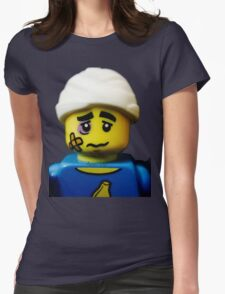 Lego Clumsy Guy minifigure Womens Fitted T-Shirt