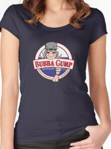 The Bubba Gump Shrim Women's Fitted Scoop T-Shirt