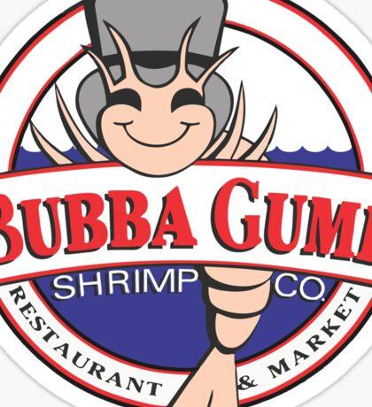 The Bubba Gump Shrim Sticker