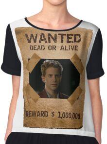 Buffy Oz Seth Green Wanted 1 Chiffon Top