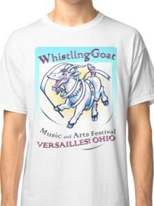Whistling Goat 'just happy to be here' Festival Classic T-Shirt