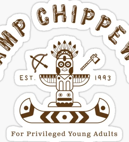 Camp Chippewa Sticker