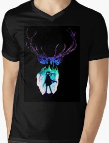Harry Potter Patronus Mens V-Neck T-Shirt