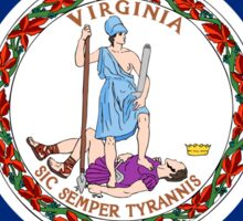 Virginia Flag Sticker