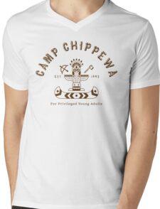 Camp Chippewa Mens V-Neck T-Shirt