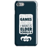 Over-Encumbered By Choice iPhone Case/Skin