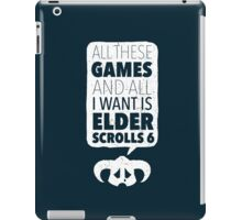 Over-Encumbered By Choice iPad Case/Skin