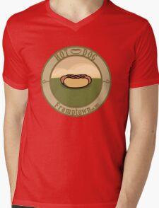 Hot Dog Joint Mens V-Neck T-Shirt