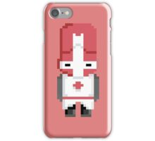 Castle Crashers (Red Knight) Pixel  iPhone Case/Skin