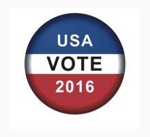 Vote Button 2016 Kids Tee