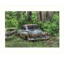 Woodland Cruiser Art Print