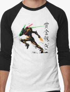 Samus Aran Men's Baseball ¾ T-Shirt