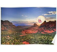 Screaming Sun Sedona. Poster