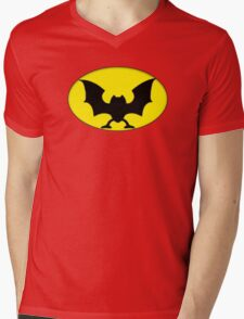 GOlBATMAN Mens V-Neck T-Shirt