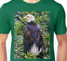 Bad Hair Day Bald Eagle Unisex T-Shirt