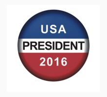 Vote Button President One Piece - Long Sleeve