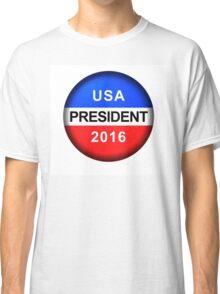 Vote Button President Classic T-Shirt