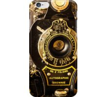 Kodak No. 2 Folding Autographic Brownie iPhone Case/Skin