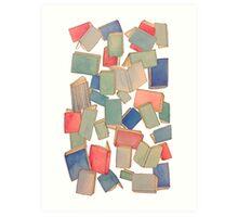 Showers of Books Art Print