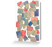 Showers of Books Greeting Card