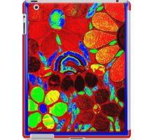 Psychedelic Garden - Mosaic Art iPad Case/Skin