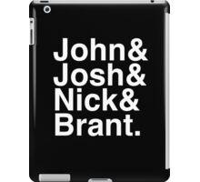 John Josh Nick Brant  iPad Case/Skin