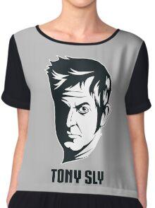 Long Live Tony Sly Chiffon Top