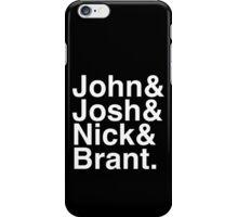 John Josh Nick Brant  iPhone Case/Skin