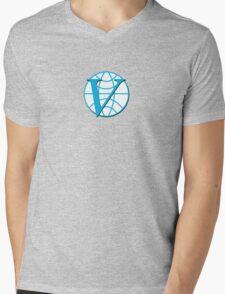 Venture Industries logo sticker and t-shirt Mens V-Neck T-Shirt