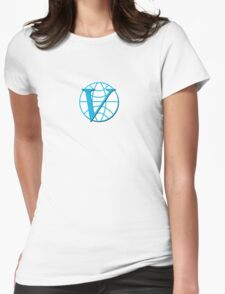 Venture Industries logo sticker and t-shirt Womens Fitted T-Shirt