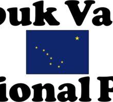 KOBUK VALLEY NATIONAL PARK ALASKA MOUNTAINS HIKING CAMPING HIKE CAMP 1980 Sticker