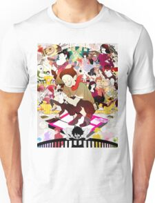 The Tatami Galaxy Characters Artwork Unisex T-Shirt
