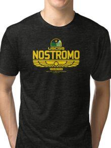 Sumerian Simbol Weyland Industries Nostromo Tri-blend T-Shirt