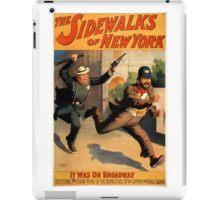 Sidewalks of New York iPad Case/Skin