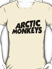 Arctic Monkeys BLACK LOGO T-Shirt