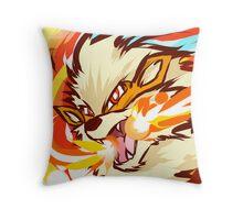Arcanine   Fire Fang Throw Pillow