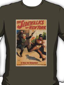 Sidewalks of New York T-Shirt