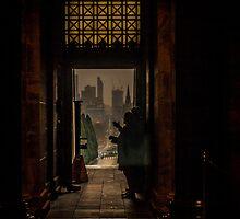 War Memorial View to Melbourne by PrimrosePress