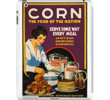 Corn, the Food of a Nation iPad Case/Skin
