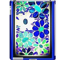 Stained Glass Blue / Purple Garden - Mosaic Art iPad Case/Skin