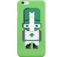 Castle Crashers (Green Knight) Pixel  iPhone Case/Skin