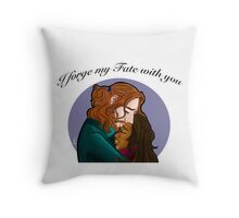 Sleepy Hollow- I forge my fate with you Throw Pillow