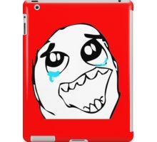 Epic Win face meme iPad Case/Skin