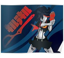 Kill la Kill Ryuko Matoi Simplist Artwork Poster